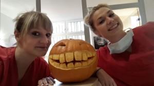 Halloween in der Praxis
